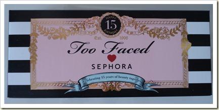 Paleta 15 Aniversario Too Faced loves Sephora